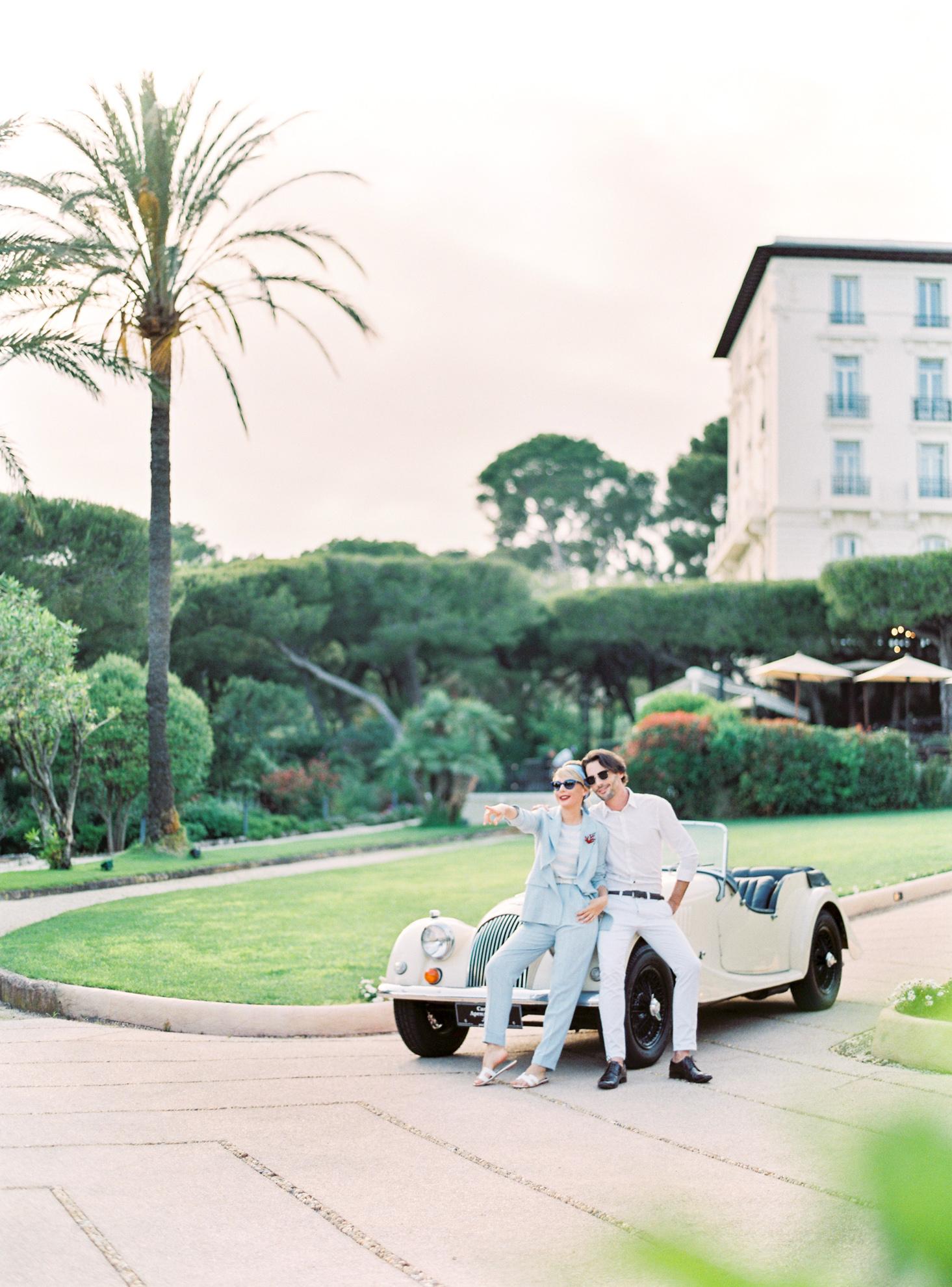 059 Grand Hotel du Cap Ferrat Fine Art Engagement Photography Session by Tony Gigov