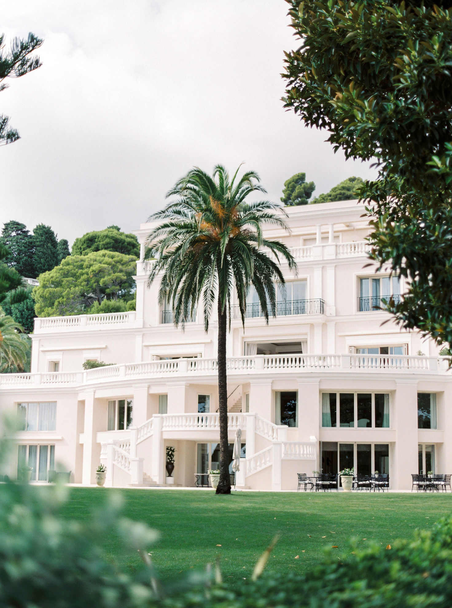 18 Romantic French Riviera Elopement at Cap Estel by Tony Gigov