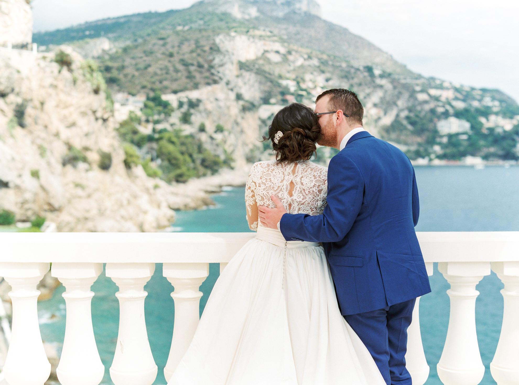 24 Romantic French Riviera Elopement at Cap Estel by Tony Gigov