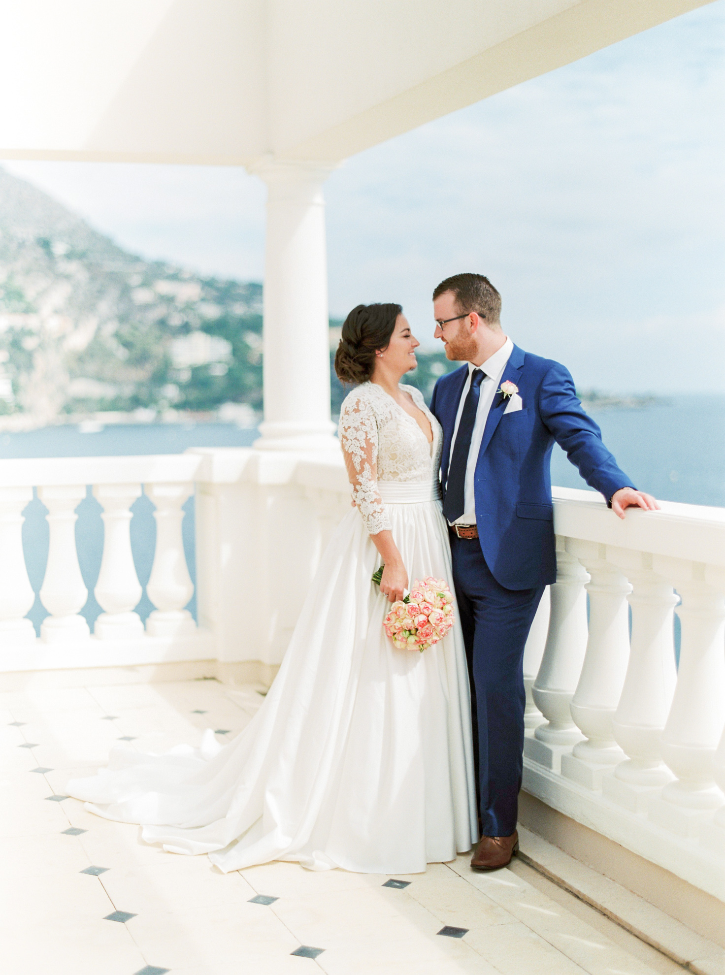 25 Romantic French Riviera Elopement at Cap Estel by Tony Gigov