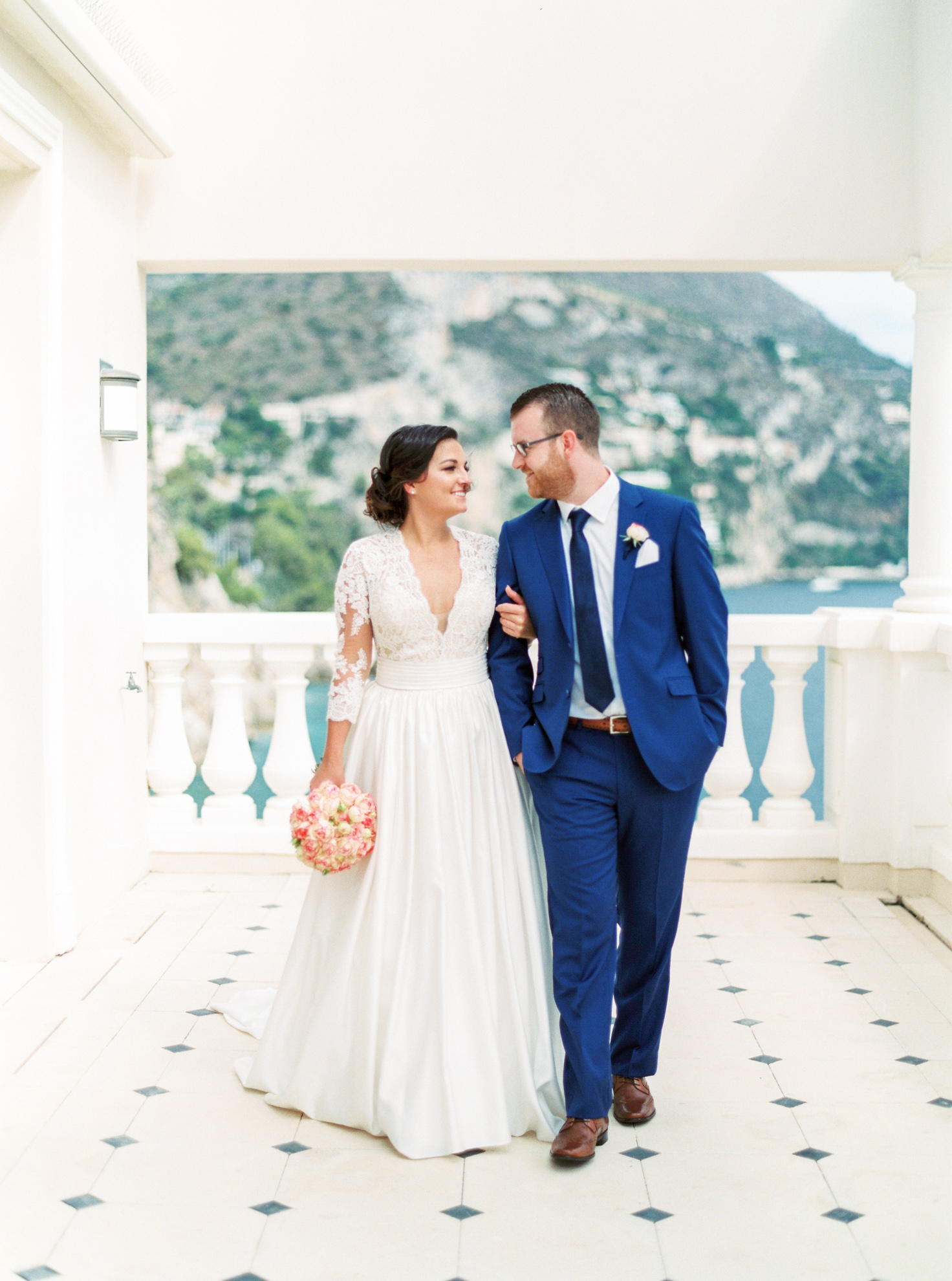 27 Romantic French Riviera Elopement at Cap Estel by Tony Gigov