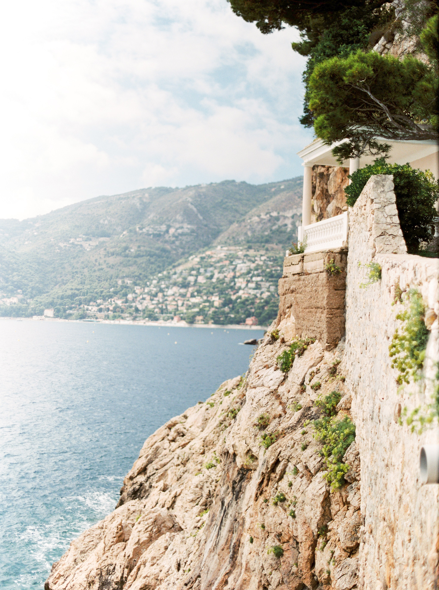 36 Romantic French Riviera Elopement at Cap Estel by Tony Gigov