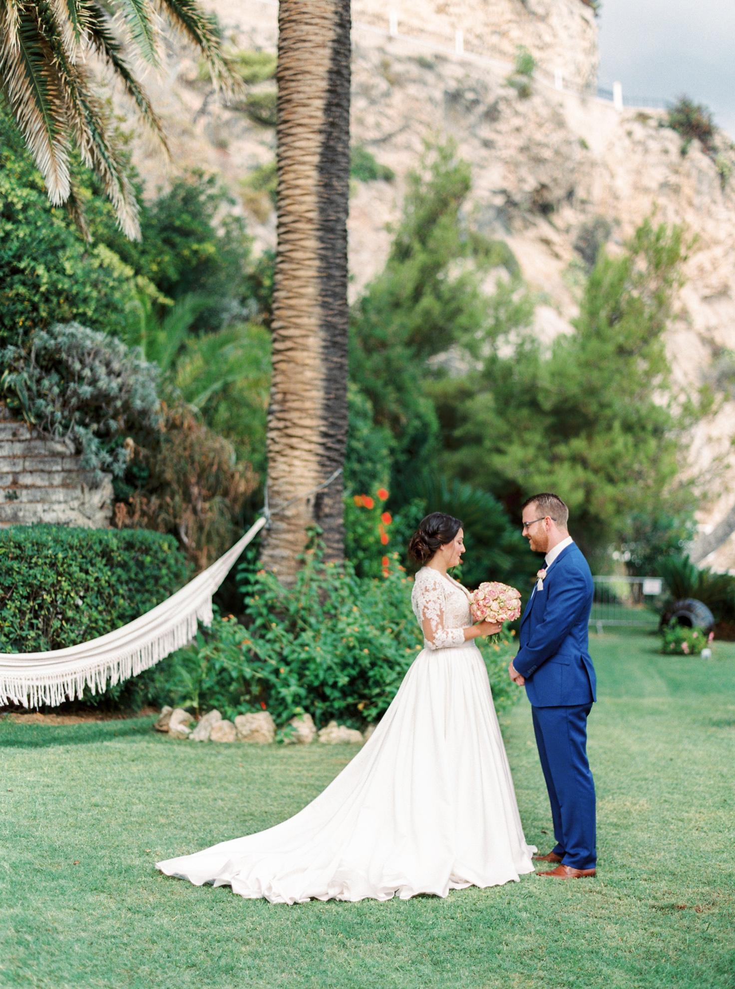 39 Romantic French Riviera Elopement at Cap Estel by Tony Gigov