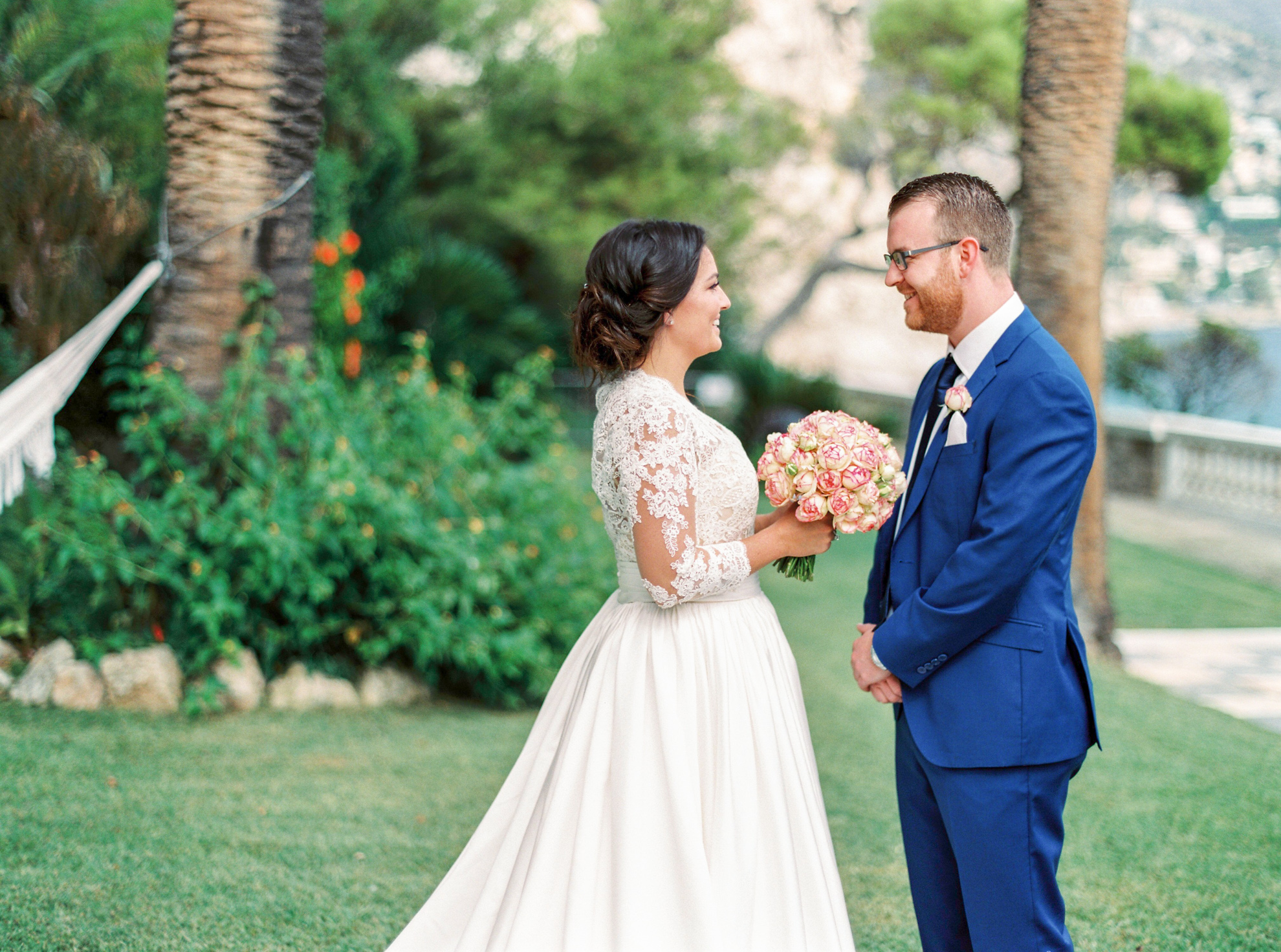 40 Romantic French Riviera Elopement at Cap Estel by Tony Gigov