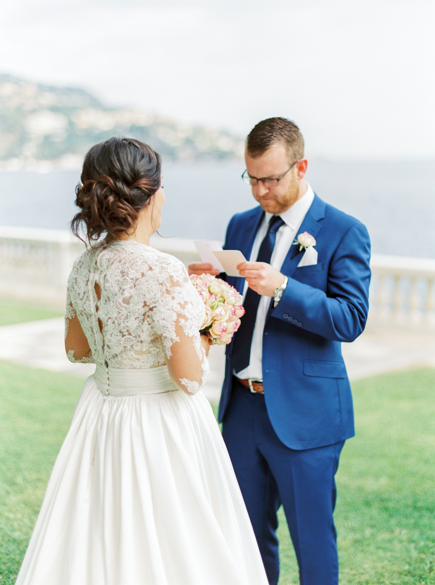 41 Romantic French Riviera Elopement at Cap Estel by Tony Gigov