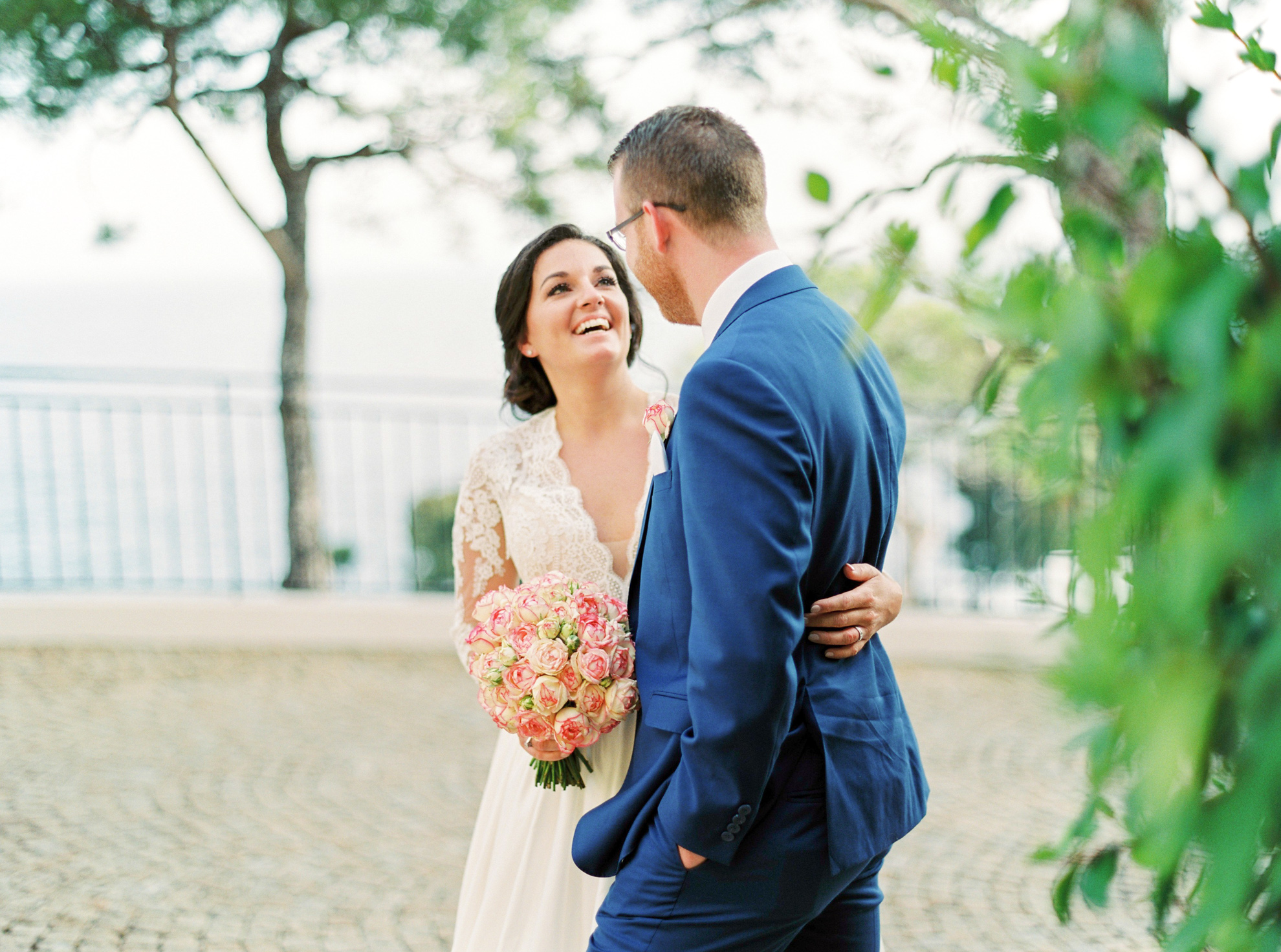 47 Romantic French Riviera Elopement at Cap Estel by Tony Gigov