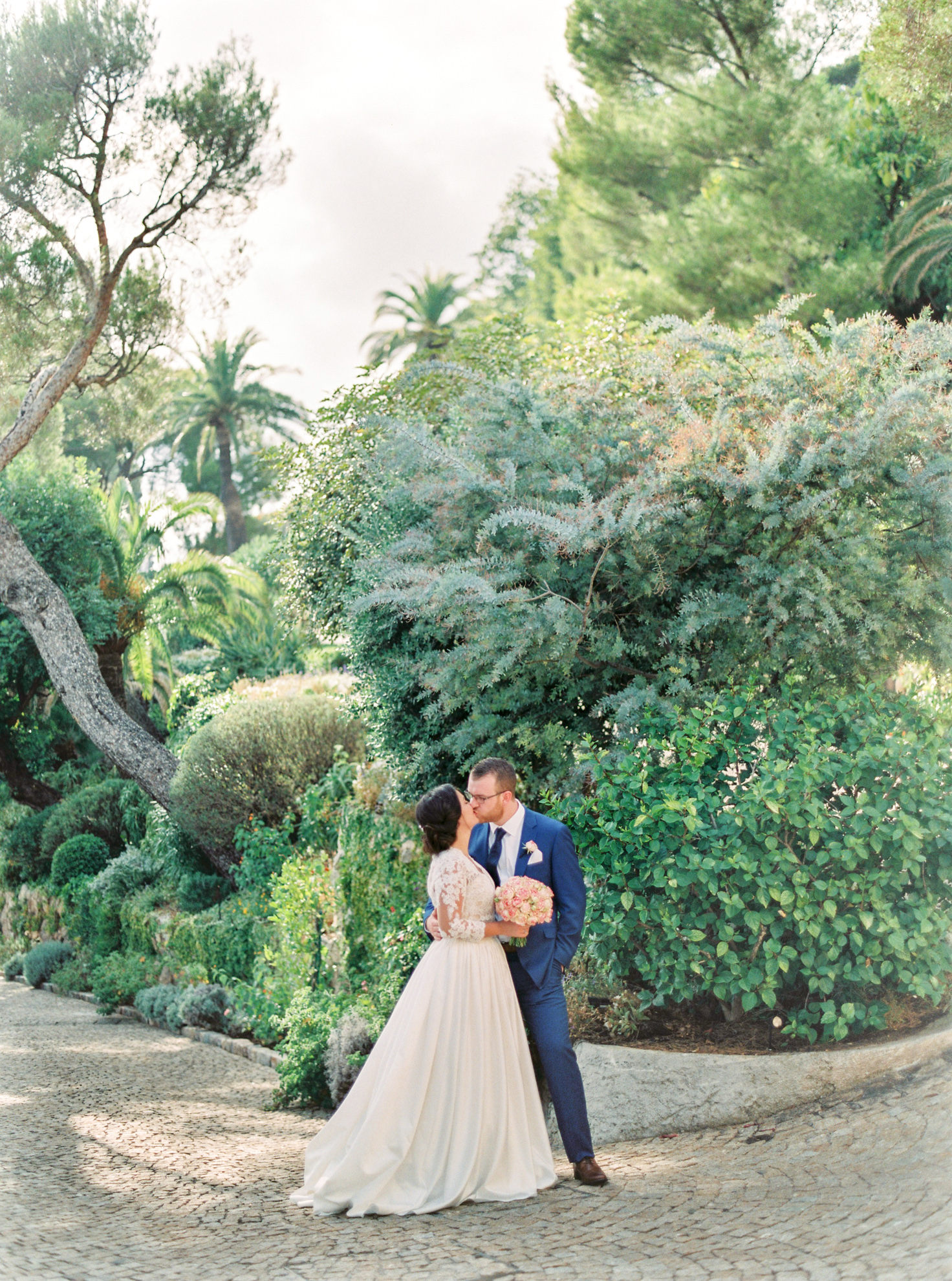 49 Romantic French Riviera Elopement at Cap Estel by Tony Gigov