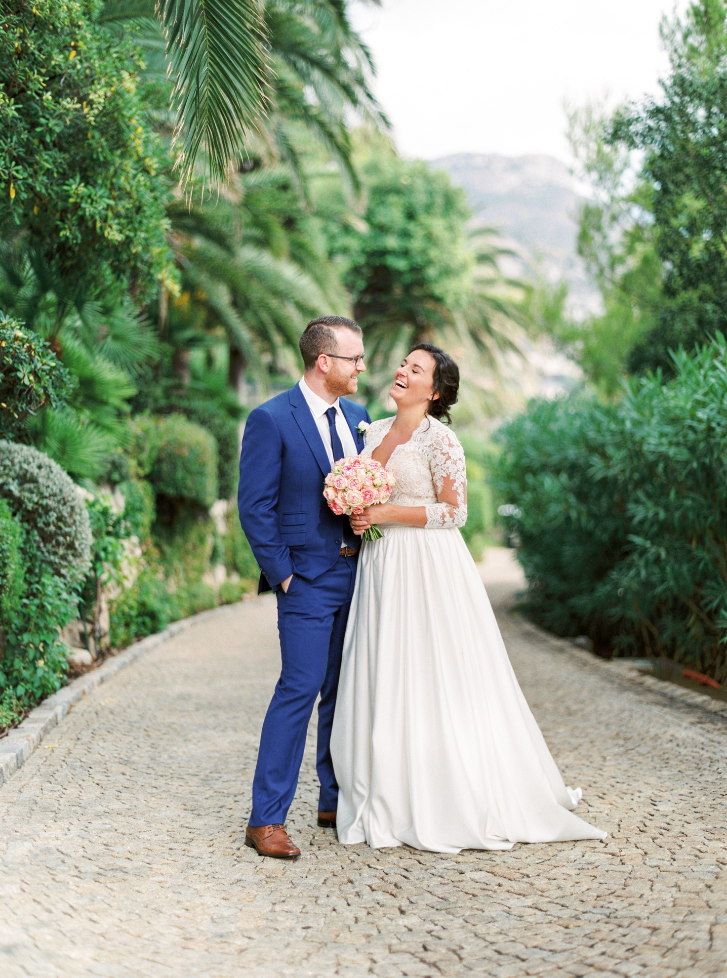 50 Romantic French Riviera Elopement at Cap Estel by Tony Gigov