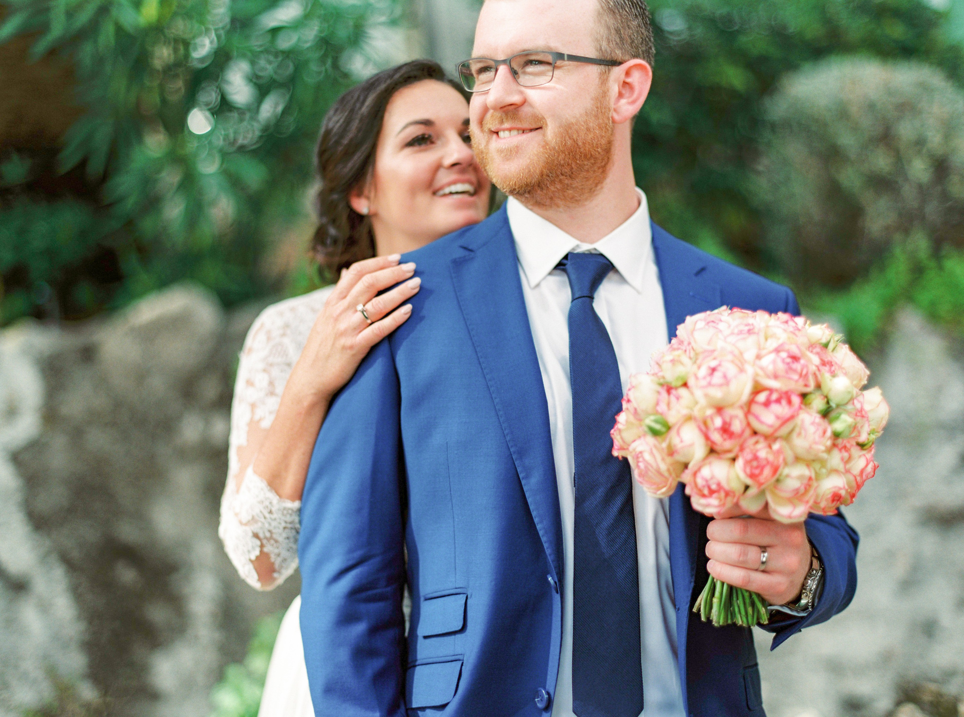 52 Romantic French Riviera Elopement at Cap Estel by Tony Gigov