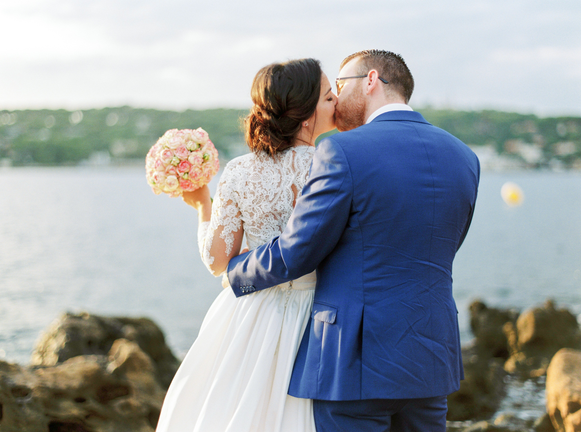 58 Romantic French Riviera Elopement at Cap Estel by Tony Gigov
